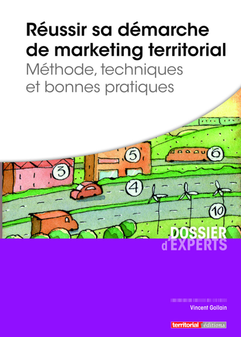 Marketing territorial : une nouvelle édition de l'ouvrage de Vincent Gollain