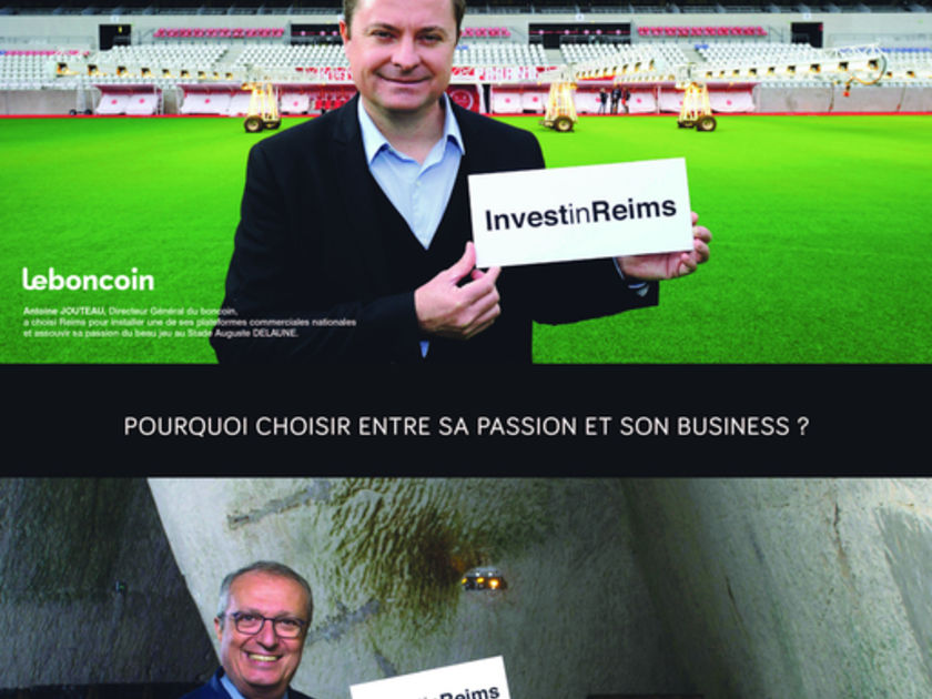 Invest in Reims lance sa nouvelle campagne de communication nationale